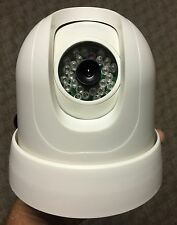 Color Pan Tilt Infrared Dome Camera+RX Pelco D-P RS-485 With IR Remote Control