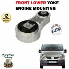 FOR NISSAN PRIMASTAR + VAN 2002--> NEW FRONT LOWER YOKE ENGINE MOUNTING