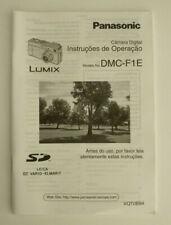 - Panasonic Instruções de Operação DMC-F1E - Câmara Digital PE português