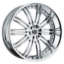 26 inch 26x10 2CRAVE No.11 Chrome wheel rim 6x5.5 6x139.7 +30