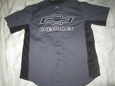 Chevy Strong Gray Baseball Jersey Large