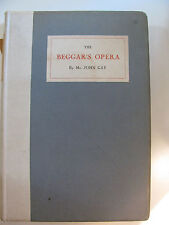 The Beggar's Opera by John Gay, Limited Edition (#31/1000) BOOk
