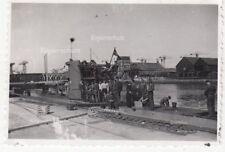 org. Foto U-Boot U 593 Kriegsmarine St. Nazaire Frankreich 1942