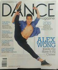 Dance Magazine June 2015 Alex Wong Annual Directory Eat Smarter FREE SHIPPING sb