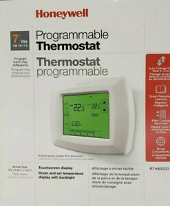 Honeywell 7-Day Programmable Thermostat (RTH8500D)
