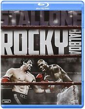 Rocky Balboa Blu Ray Sylvester Stallone Geraldine Hughes UK Rele New Sealed R2