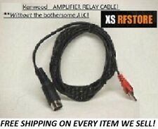Amp Relay Cable For Kenwood Ts-830S,2000, 850S, 870S (No Alc) *Free Ship*