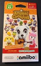 Nintendo Animal Crossing Amiibo Card Pack Series 2 [ 6 Cards in 1 Pack ] NEW