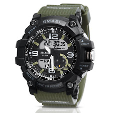 Men's Military Digital Analog Sports Stylish Watch Waterproof Outdoor Electronic