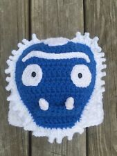 Abominable Snowman Hat Trog Hat Yeti Hat Gamer Gift Gamer Gift Crochet Yetti Hat