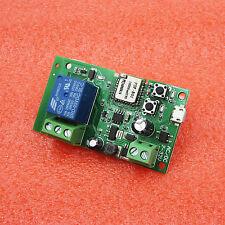 Sonoff WiFi Wireless Smart Switch Home Relay Module 5V-32V Self-locking