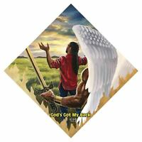 God's Got My Back By A.C. Smith African American Art Print 24x24