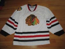 Vintage CCM CHICAGO BLACK HAWKS (Man's MED) Hockey Jersey