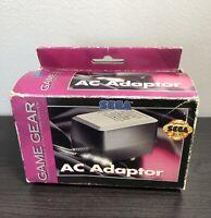 Sega Game Gear Original OEM AC Adapter Box BOX ONLY NO CHARGER