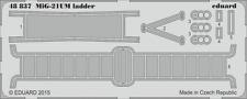 Eduard PE 48837 1/48 Mikoyan MiG-21UM Mongol B ladder Trumpeter