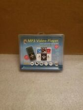 Innovage Mp3 & Video Player Lcd Full Color Screen with Accessories Kit New Black