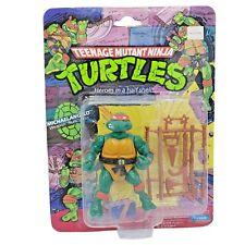 Ninja Turtles Michaelangelo MOC Sealed 10 Back Vintage TMNT Playmates 1988