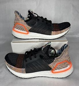 Women's Adidas Ultraboost 19 Running Shoes Size 11 Multicolor Black G54017
