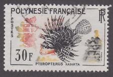 French Polynesia 1962 #201 Tropical Fish - Used