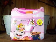 Paw Patrol Girls Toddler 2 Piece Sleepwear Set Size 3T Kids Pajama Set Cartoon
