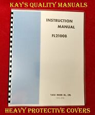High Quality Yaesu FL-2100B Instruction Manual on 32 LB PAPER,C-MY OTHER MANUALS