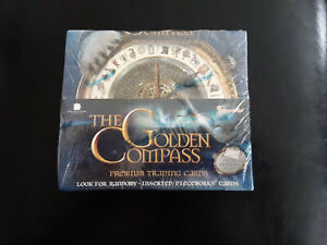 Golden Compass Trading Cards Sealed Box