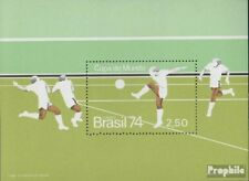 Brazil block34 (complete.issue.) unmounted mint / never hinged 1974 Football WM