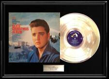 ELVIS PRESLEY CHRISTMAS  ALBUM FRAMED LP  VINYL RECORD DISPLAY RARE