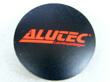 Original ALUTEC Nabenkappen N23 scharz rot für Alufelgen Nabendeckel N 23