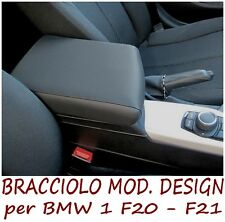 Bracciolo Premium DESIGN per BMW 1 F20 - F21 -MADE IN ITALY mittelarmlehne für @