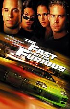Fast and the Furious movie poster (b) - Vin Diesel poster, Paul Walker poster,