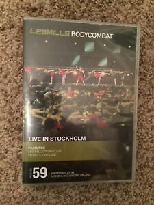 Les Mills BODYCOMBAT 59 DVD, CD, Notes body combat