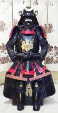 Japanese wearable Rüstung Samurai Armor set suit  Black Red Toyotomi family  O17