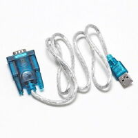 USB 2.0 TO SERIAL RS232 DB9 9 PIN ADAPTER CABLE PDA cord GPS CONVERTER SY