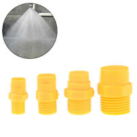 "Plastic Vee Jet Flat Fan Spray Nozzle 1/8"" 1/4"" 3/8"" 1/2"" Industrial CleaFB"