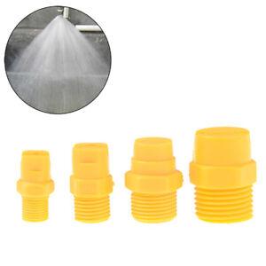 """Plastic Vee Jet Flat Fan Spray Nozzle 1/8"""" 1/4"""" 3/8"""" 1/2"""" Industrial Cleaning JG"""