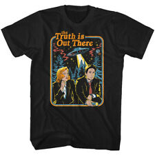 The X Files Science Fiction Tv Retro Picture Full Color Adult T Shirt
