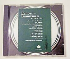 1997 ECHO & THE BUNNYMEN EVERGREEN 12 TRACK RARE PROMO CUSTOM LABELED CD