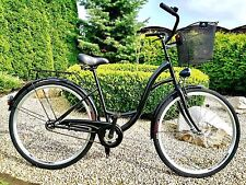 26 Zoll Damenfahrrad Citybike Retro Amsterdam Damenrad Vintage Cityrad No Logo