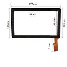 "Touch Screen Digitizer For CHROMO INC Compatible with Chromo Inc 7"" Tablet Noria"