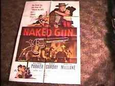 NAKED GUN MOVIE POSTER '56 WESTERN