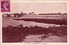 PORT-LOUIS 26 la plage timbrée