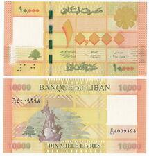Lebanon P-New 2013 10000 Livres (Gem UNC) New!!