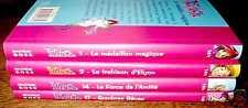 lot de 4 romans enfants WITCH : 1 / 2 / 14 / 17 - TTBE