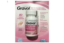 Gravol Easy to Swallow Tablets 50 mg 80 tablets