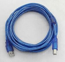 2 Units of 30 Feet USB2 A to B High Speed Cable Cord For Office Printer Scanner