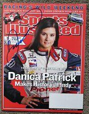 Danica Patrick Signed Sports Illustrated Magazine 2005 Signatures.com