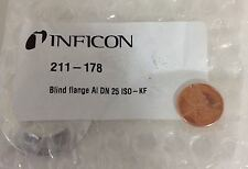 INFICON BLIND FLANGE 211-178 *PZB*