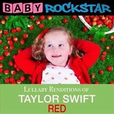 Lullaby Renditions of Taylor Swift: Red by Baby Rockstar (CD, Jan-2016, Helisek Music Publishing)