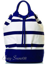 Toss Designs Regatta Bucket Navy & White Bag Disney Park New with Tags